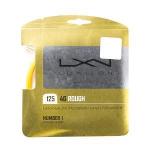 ルキシロン 4G ラフ 125 WRZ997114 硬式テニス ストリング LUXILON