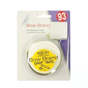 ボウブランド プログリップ 3本入り ホワイト BOW003WH テニス グリップテープ BOWBR...