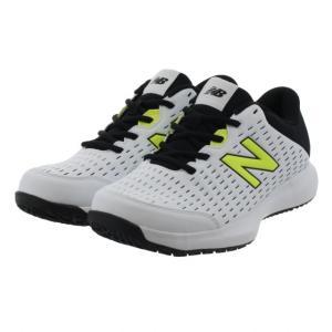 ニューバランス MCO696V4 MCO6962E メンズ テニス オムニクレー用シューズ 2E : ホワイト×イエロー New Balance アルペン PayPayモール店