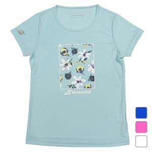 ◇フランス国花のユリ柄のプリントTシャツ◇吸水 速乾 UV■アルペンカラー(メーカーカラー):ペール...