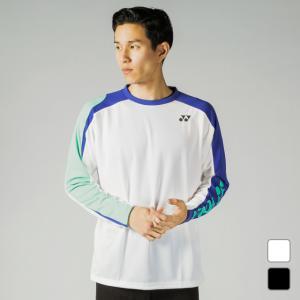 ヨネックス メンズ レディース テニスウェア バドミントン 長袖 ロングスリーブTシャツ 練習着 ト...
