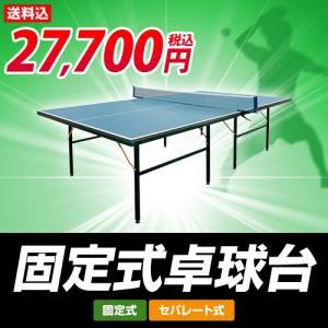 特選品 卓球台 国際規格サイズ セパレート式 固定式 代引可能 PB-2PG0019 カラー ネイビー|alpen-group