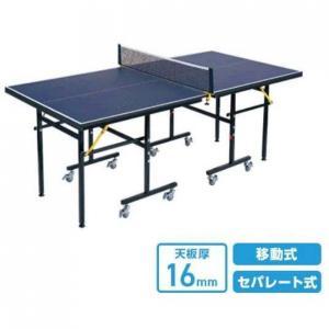 ◇ますます充実のレクリエーション用卓球台◇場所を選ばず、持ち運びもスムーズ。家庭用サイズよりさらに一...