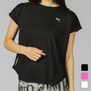 プーマ レディース Tシャツ 半袖Tシャツ STUDIO SS メッシュ Tシャツ 518797 フ...