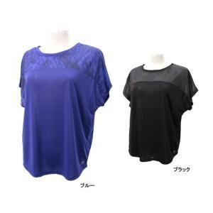 ティゴラ レディース フィットネス 半袖 Tシャツ TR-3F2617TS TIGORA alpen-group