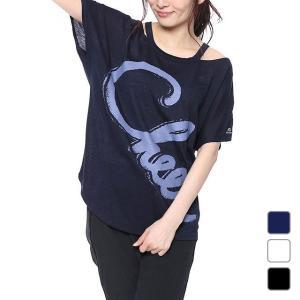 キスマーク レディース フィットネス 半袖Tシャツ KM-3I408 kissmark|alpen-group