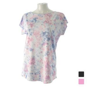 キスマーク レディース フィットネス 半袖Tシャツ KM-3I428 kissmark|alpen-group