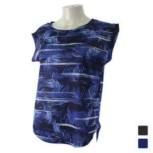 キスマーク レディース フィットネス 半袖Tシャツ KM-3I448 ガラ|alpen-group