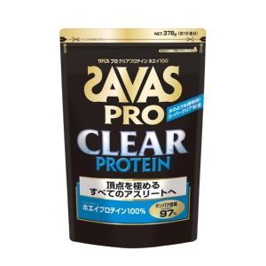 ザバス(SAVAS) ザバス プロ クリアプロテインGP プレーン味 378g (約18食分) (C...
