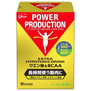 グリコ パワープロダクション ◇クエン酸&BCAAはクエン酸5000mg、BCAA(分岐鎖アミノ酸)...