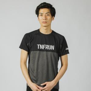 THE NORTH FACE(ノースフェイス)ランニング メンズ半袖Tシャツ S/S TNFR LOGO CREW NT11990 メンズ ZCの商品画像|ナビ