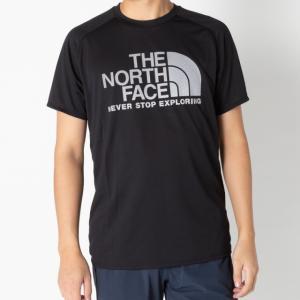 ノースフェイス メンズ 陸上 ランニング 半袖Tシャツ S/S GTD LOGO CREW NT61979 K : ブラック THE NORTH FACE