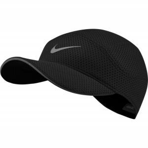 ナイキ 陸上 ランニング キャップ エアロビル テイルウィンド メッシュ キャップ (CI5667 010) 帽子 : ブラック NIKE