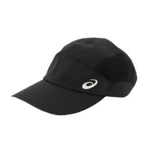 アシックス 陸上 ランニング キャップ ランニングクロスキャップ (3013A160 001) 帽子 : ブラック asics