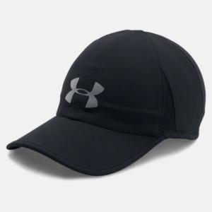 アンダーアーマー 陸上 ランニング キャップ UA SHADOW CAP 4.0 (1291840 001) 帽子 : ブラック UNDER ARMOUR