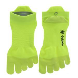 ゴールドウィン 陸上 ランニング ソックス 5Tアーチサポートショートソックス GC20302 FY 5本指 靴下 : フラッシュイエロー GOLDWIN|アルペン PayPayモール店