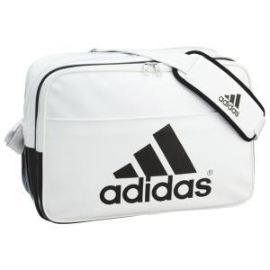 adidas アディダス エナメルバッグ : ホワイト×ブラック BIP41 AP3356