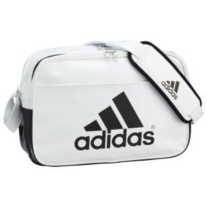 adidas アディダス エナメルバッグ : ホワイト×ブラック BIP40 AP3361