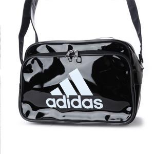アディダス エナメルバッグS 12LCX4046:ブラック×ホワイト adidas