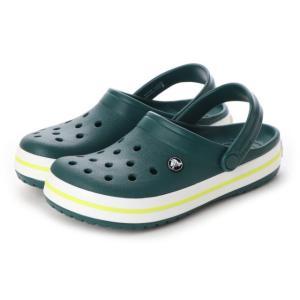 【正規品】 クロックス クロックバンド Crocband (11016 3S0) クロッグサンダル メンズ レディース サンダル : グリーン crocs