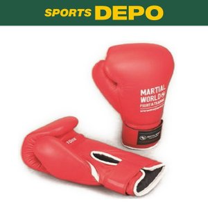 マーシャルワールド Martial World 格闘技 ボクシンググローブ プロフェッショナルワークアウトグローブ : レッド BG410 RD|alpen-group
