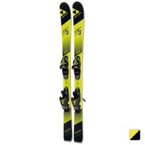 フィッシャー RC4 RACE JR. A19417 ジュニア キッズ・子供 スキー 板 ビンディング付き 2017-18モデル FISCHER|alpen-group