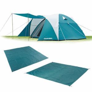 サウスフィールド キャンプスタートパッケージ ドームテント マット シート セット|alpen-group
