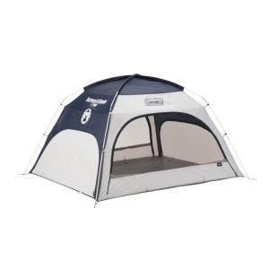 コールマン スクリーンIGシェード ネイビー/グレー 2000033129 キャンプ ワンタッチテント シェルター スクリーンテント サンシェード 3人用 4人用 colemanの画像