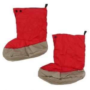 ナンガ 寝袋 TENTO SHOES テントシューズ レッド (N1TSREN0 RED) キャンプ...