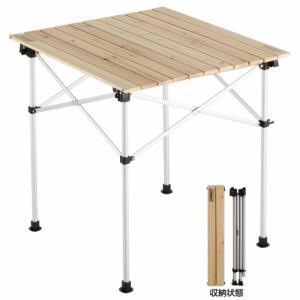 Coleman コールマン テーブル ナチュラルウッドロールテーブル/65 2000023502 NATURAL WOOD ROLL TABLE|alpen-group