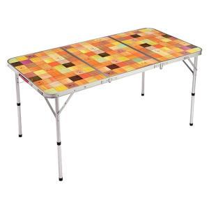 Coleman コールマン テーブル ナチュラルモザイクリビングテーブル/140プラス 2000026750|alpen-group