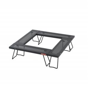 ◇プレス仕様のローテーブル4台セット。焚火テーブルやワンポールテントのセンターテーブルとしても活躍。...