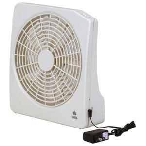 ロゴス LOGOS 2電源・どこでも扇風機 AC・電池 81336702|alpen-group