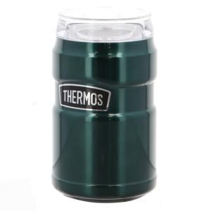 サーモス 保冷缶ホルダー 350ml缶 パイングリーン ROD-002 PGR キャンプ 食器 THERMOS|アルペン PayPayモール店