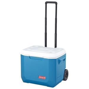 ◇保冷力5日、47Lの大容量、ホイールとハンドル付で移動が便利なクーラー◇500mlペットボトル 2...