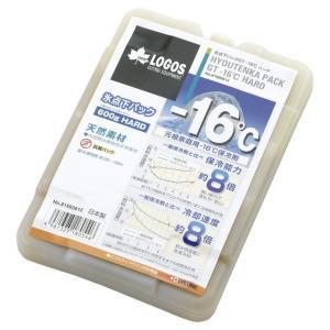 ロゴス 氷点下パックGT-16℃・ハード600g (81660612) キャンプ 保冷剤 LOGOS アルペン PayPayモール店