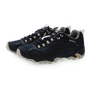 MERRELL メレル MOAB FST GORE-TEX JAPAN EDITION モアブ FST ゴアテックス ジャパンエディション J598189 : ネイビー メンズ トレッキングシューズ 登山靴|alpen-group