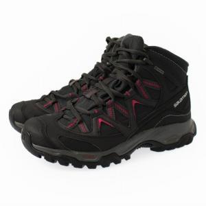 SALOMON サロモン CROSSROAD MID GTX WIDE W L39965300 : ブラック レディース トレッキング シューズ 登山靴|alpen-group