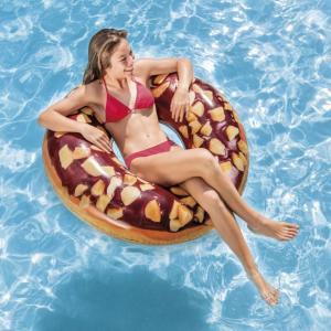 浮き輪 フロート ナッツチョコレートドーナツチューブ (56262) マリンレジャー 海水浴 ビーチ...