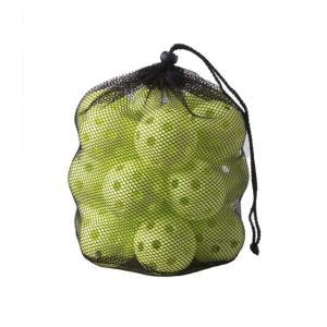 打撃練習ボール 穴あきボール専用バッグ付き・20個セット 軽い・やわらか・飛ばない 野球練習用品 FBB-20 フィールドフォース FIELDFORCE