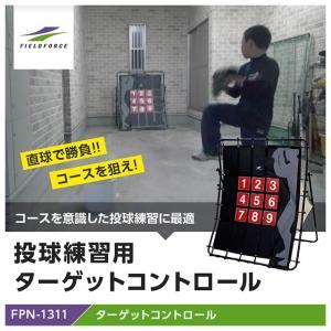 ピッチングネット 軟式野球ボール ストラックアウト 投球 ターゲットコントロールFPN-1311