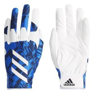 アディダス メンズ 野球 守備用手袋 5Tフィールディンググラブ ETY44 CX2057 : ブルー 左手用 adidas|alpen-group