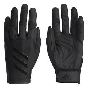 アディダス メンズ 野球 守備用手袋 5Tフィールディンググラブ ETY44 CX2058 : ブラック×ブラック 左手用 adidas|alpen-group