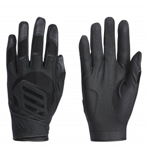 アディダス ジュニア キッズ・子供 野球 バッティング用 手袋 5T バッティング グローブ DU9706 : ブラック×ブラック 左手用 adidas|alpen-group