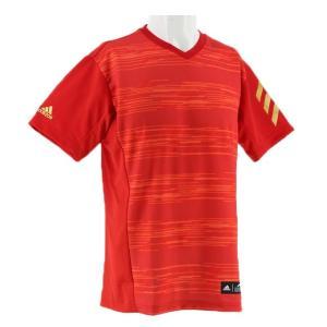 アディダス メンズ 野球 半袖 Tシャツ 5T 2nd ユニフォーム Border V FTI94 DU9586 : レッド adidas|alpen-group