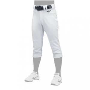 MIZUNO ミズノ 少年野球 パンツ ジュニア キッズ・子供 ユニフォーム パンツ タイプ ヒザ2重 12JD9F80 ホワイト 野球
