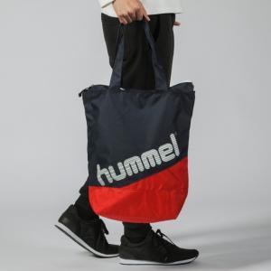 ヒュンメル トートバッグ HFB7078 サッカー/フットサル : ネイビー×レッド hummel alpen-group