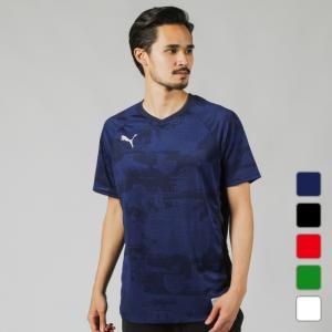 プーマ メンズ サッカー/フットサル 半袖シャツ ftblNXT カジュアル SS AOP グラフィックシャツ 656215 PUMA alpen-group