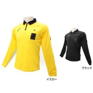 ティゴラ TIGORA メンズ サッカー レフリー レフェリー 長袖 ポロシャツ TR 8SW1755RFLS|alpen-group