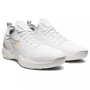 アシックス グライドノヴァ GLIDE NOVA FF 2 1061A038 メンズ レディース バスケットボール シューズ バッシュ 2E : ホワイト asics アルペン PayPayモール店
